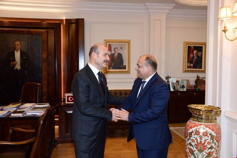 Our Minister of Interior H.E. Süleyman Soylu Received the Minister of Interior of Islamic Republic of Afghanistan