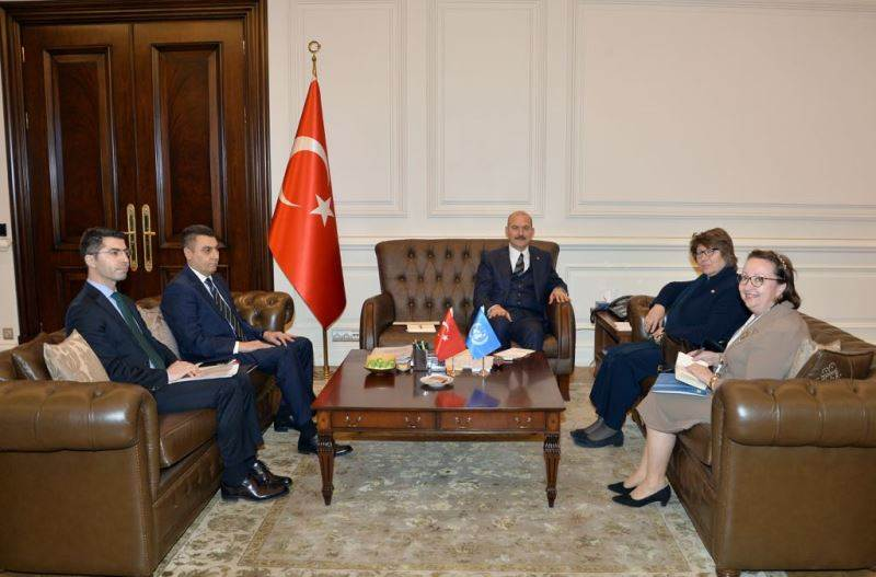 Minister of Interior Soylu Received the UN Resident Coordinator