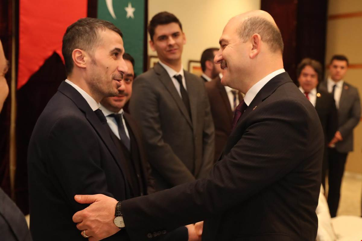 Our Minister of Interior Mr. Süleyman Soylu's Pakistan Visit