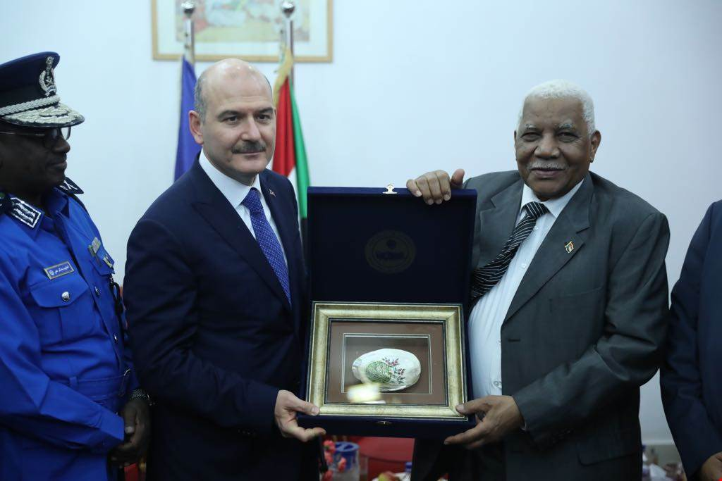 Our Minister of Interior Mr. Süleyman Soylu's Sudan Visit